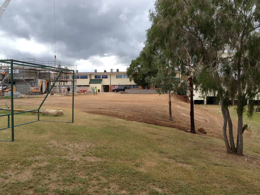 Laser Level - Netball Courts, Soccer Fields and Tennis Courts